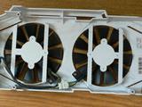 Система охлаждения видеокарты asus GTX 1060 dual, бу